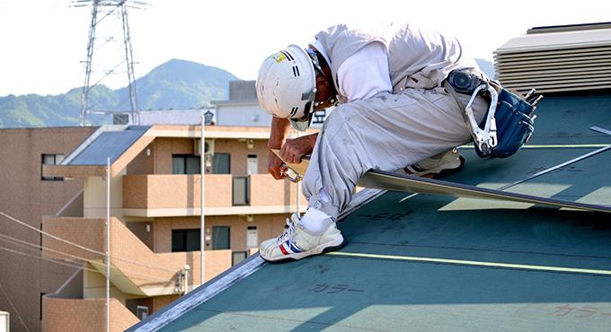 屋根工事の一日の流れ画像2
